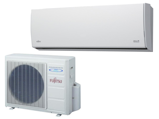 Fujitsu air conditioning system.