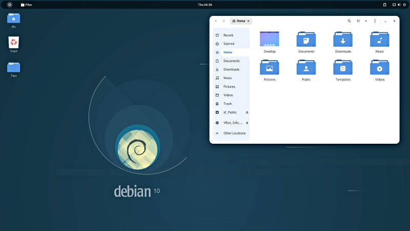 Orchis themes and Tela in icons in Debian 10