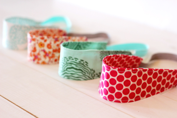 Wide Prints DIY Headbands