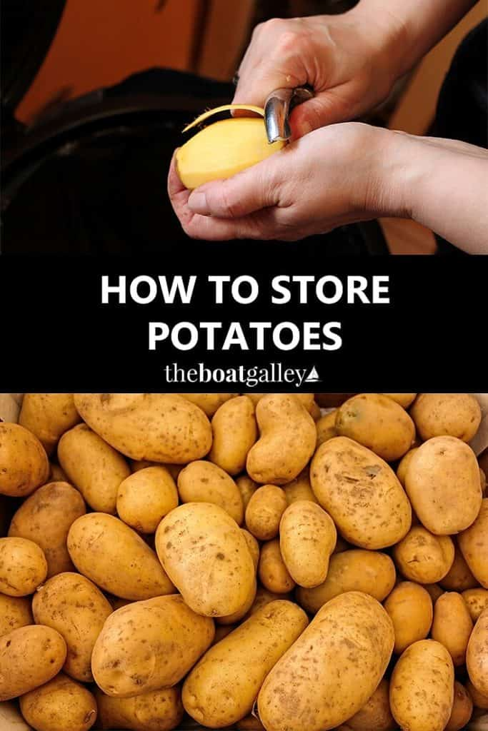 How to store potatoes for the longest life! Six simple