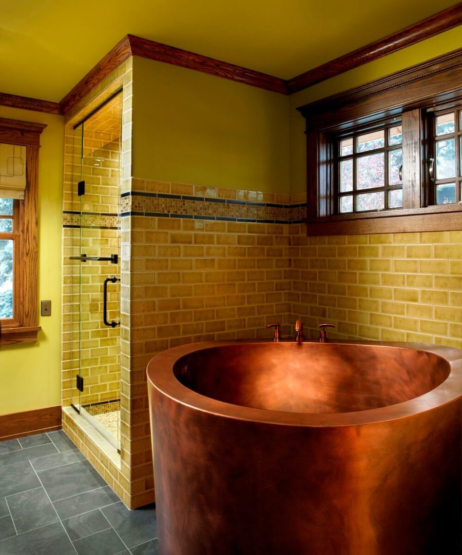 Copper Japanese Soaking Tub 900x1082 19 Japanese Soaking Tubs That Bring the Ultimate Comfort