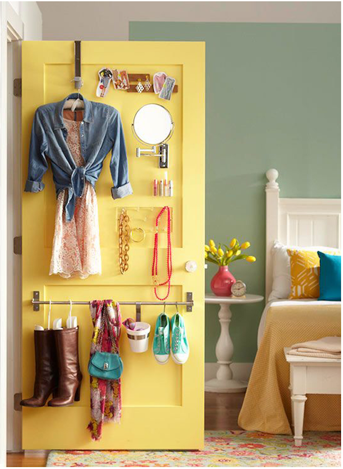 hang shoes rail wardrobe