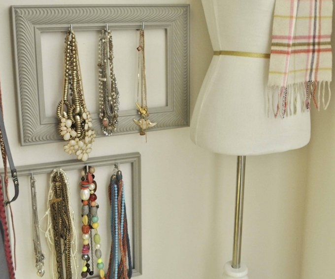 jewellery storage photo frames
