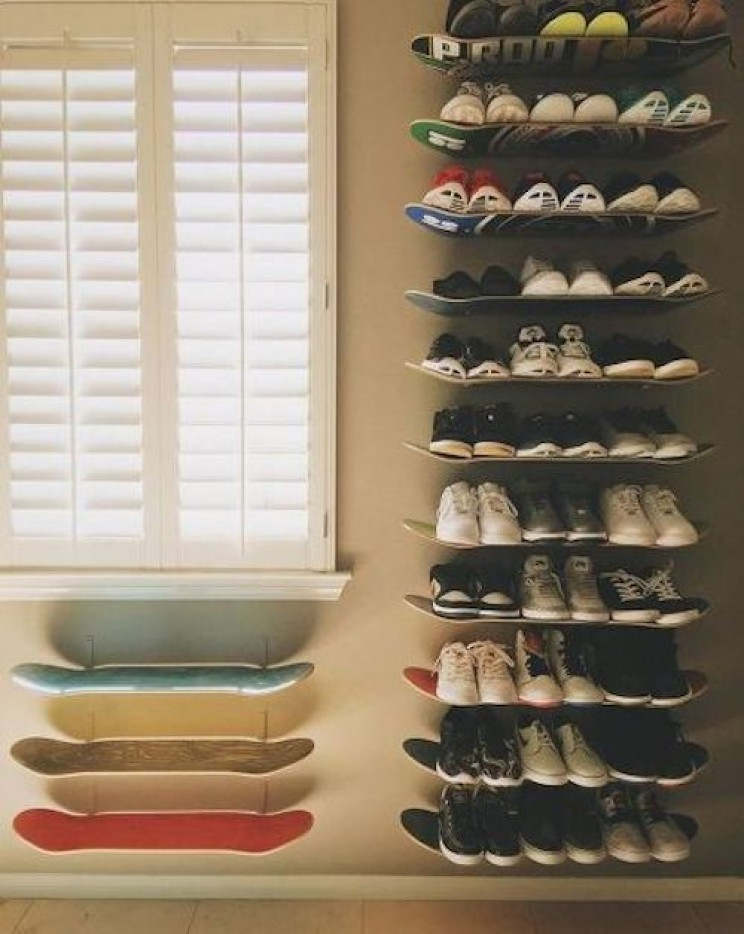 15 Excellent DIY Shoe Storage Projects to Get Your Apartment Organized