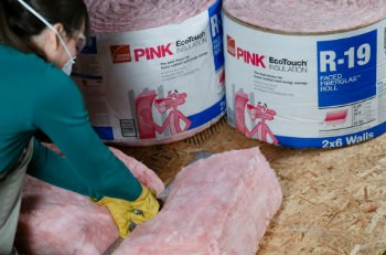 Fiberglass Batts insulation