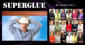 Superglue: Be careful with it!