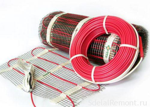 features underfloor heating cable