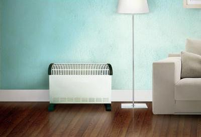 Heat the convector and radiator