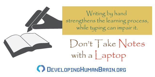 improve memory by handwriting